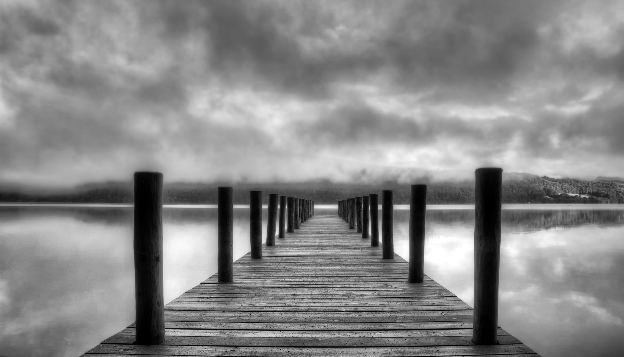 Photograph Moody Pier by Andy Robson on 500px