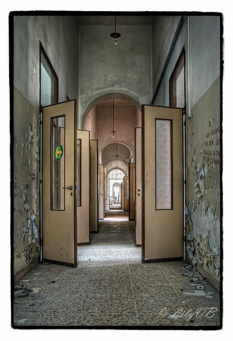 Photograph Ospedale Psichiatrico V by Lily Van Bergen on 500px