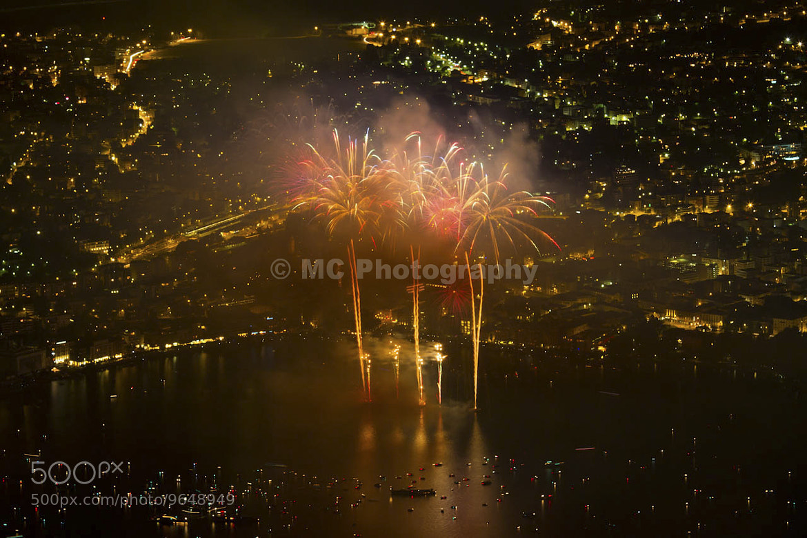 Photograph Fireworks by Mirko Costantini on 500px