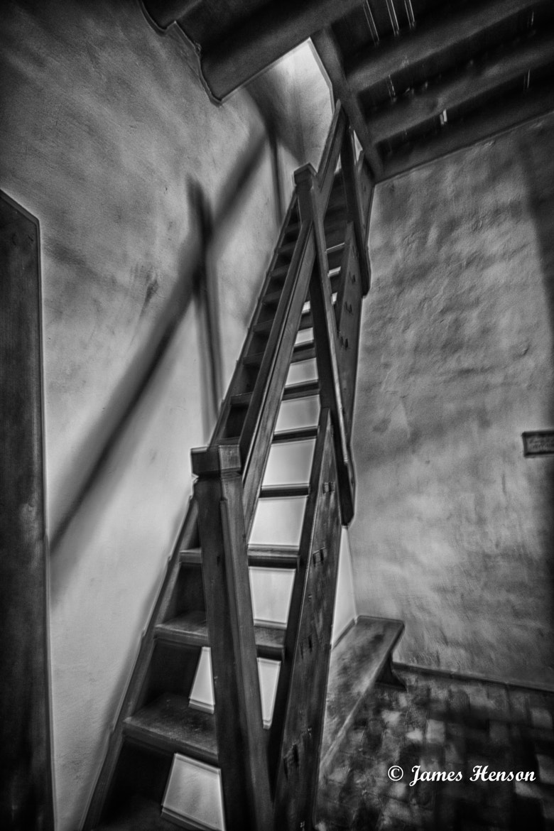 Photograph Light at the Top of the Stairs by James Henson on 500px