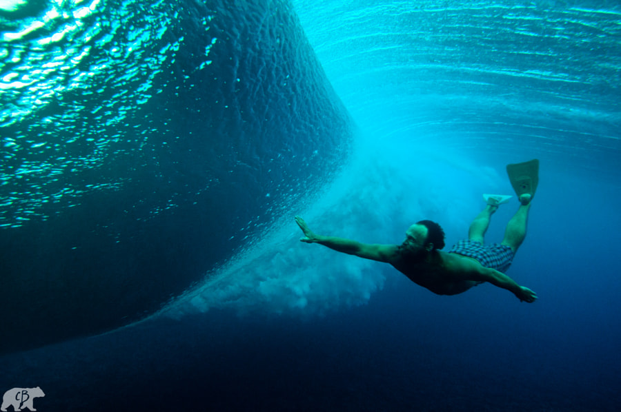 Photograph Bodysurfing Beauty by Chris  Burkard on 500px