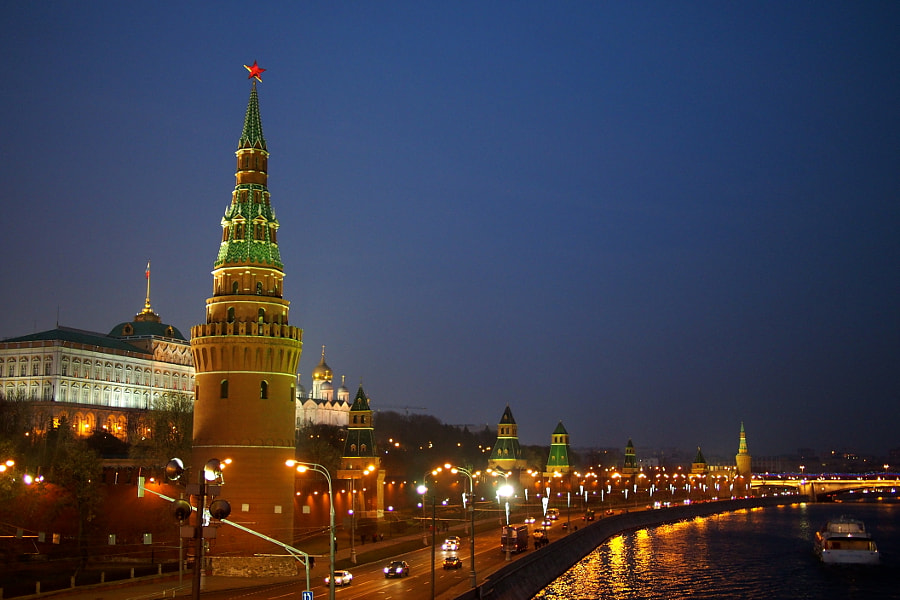 Photograph Kremlin, Moscow, Russia by parentheticalpilgrim on 500px