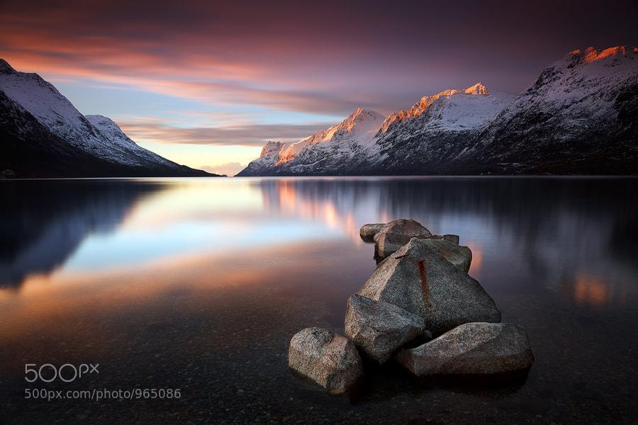 Photograph Ersfjordbotn Sunset by Gary Newman on 500px