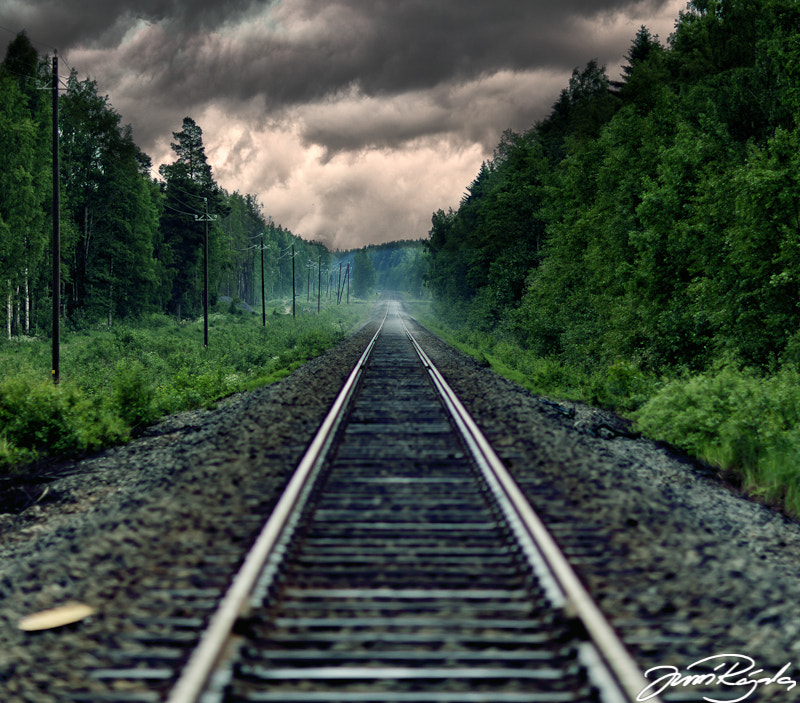 Photograph Railroad by Jussi Rajala on 500px