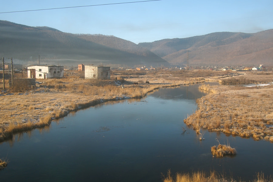 Photograph view from Transmongolian Train from Moscow to Ulaanbaatar (Mongolia) by parentheticalpilgrim on 500px