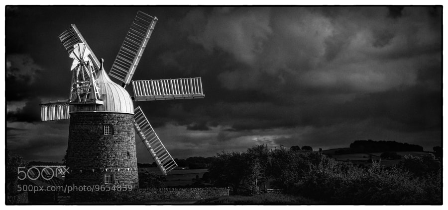 Photograph Heage Windmill by David Guyler on 500px