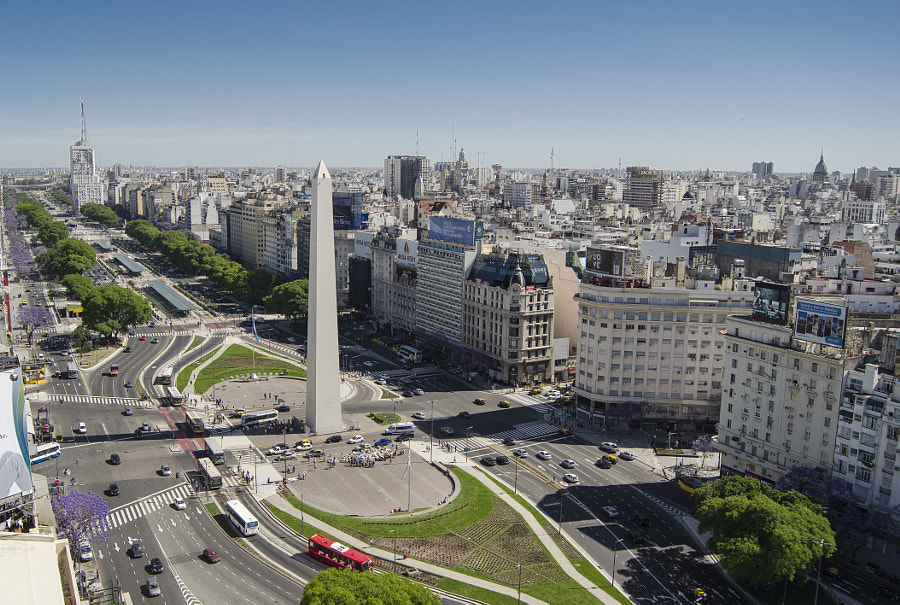 Photograph Obelisco de Buenos AIres by Angelo Guzman on 500px