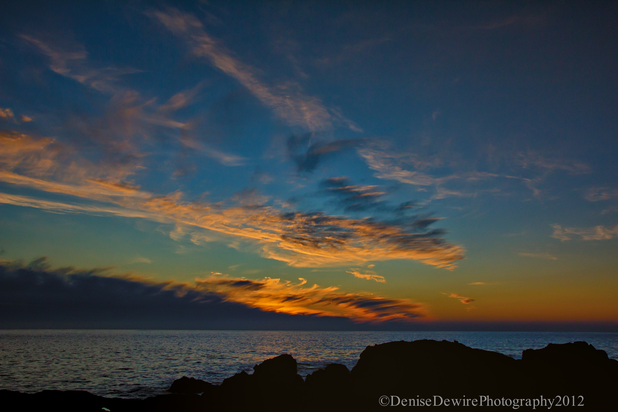 Photograph Fire Sky by Denise Dewire on 500px