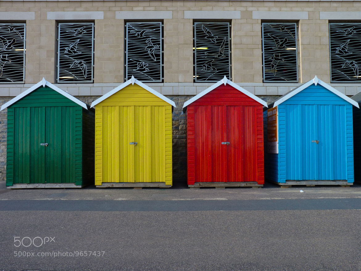 Photograph Huts of colour by Richard Willson on 500px