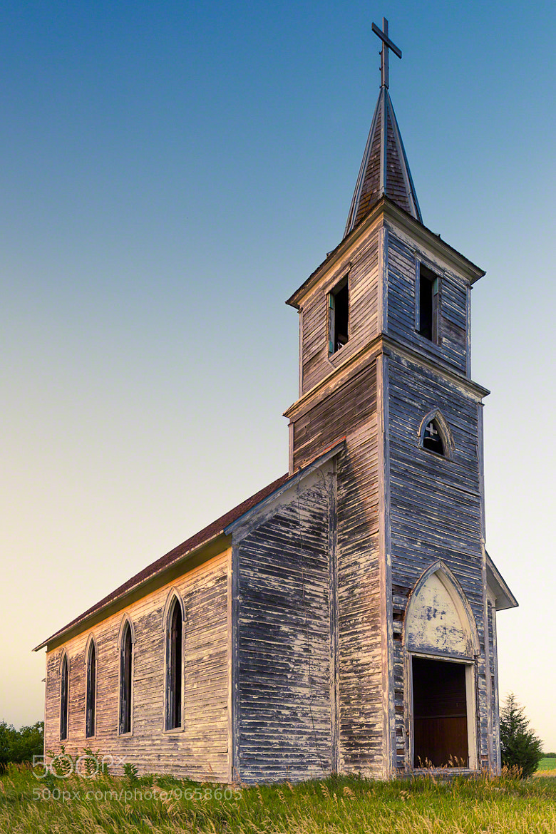 Photograph Old Church in Milford, NE by Nicole S. Young on 500px