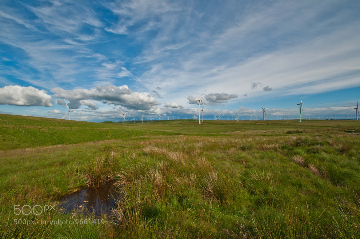 Photograph One big wind farm by Kevin McDonald on 500px