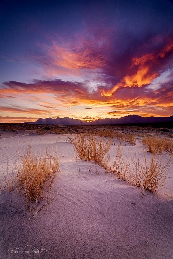 Mojave Sunrise by Dan Holmes on 500px.com