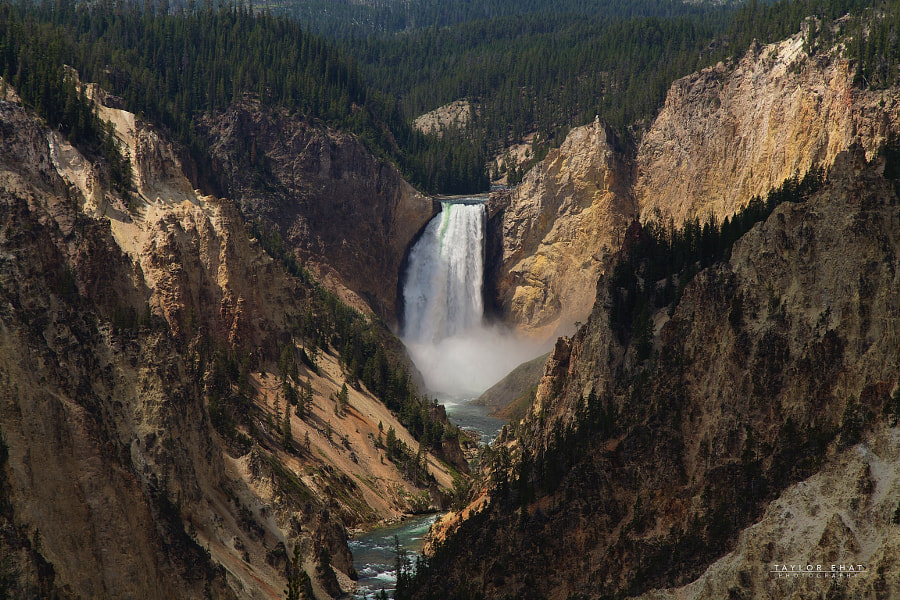 Photograph Yellowstone Falls by Taylor Ehat on 500px