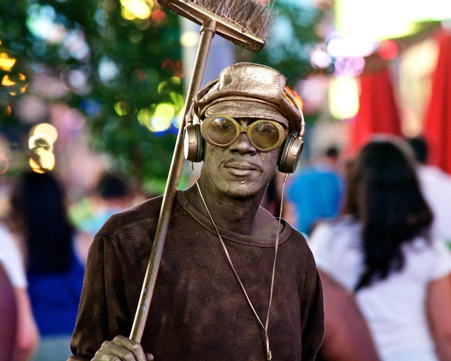Times Square Tin-Man
