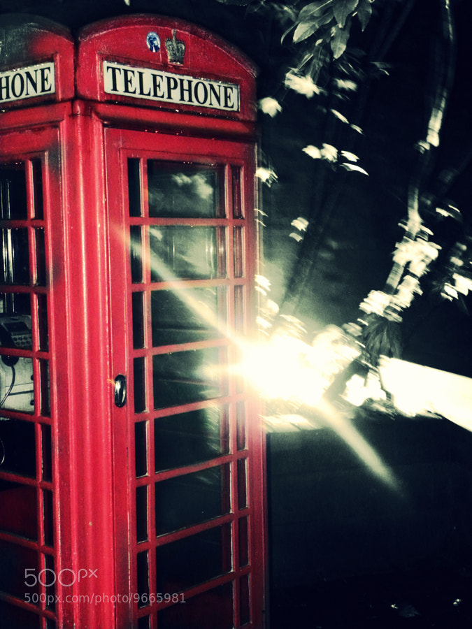 Photograph Vintage Telephone Box by Laureyleigh Jones on 500px