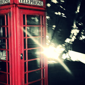 Vintage Telephone Box by Laureyleigh Jones (laureyleigh)) on 500px.com