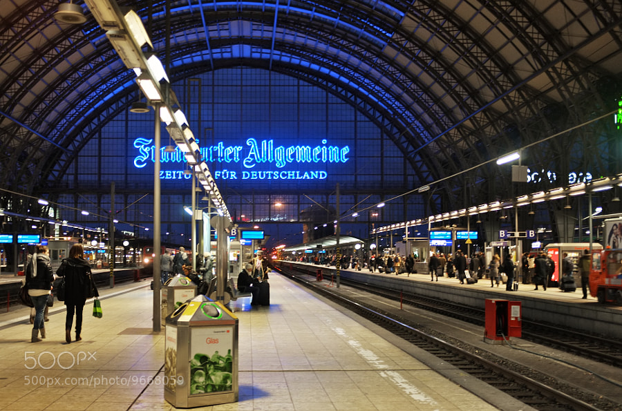 Photograph Hauptbahnhof. by Edmund White on 500px