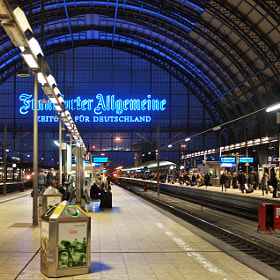 Hauptbahnhof. by Edmund White (ewwhite)) on 500px.com