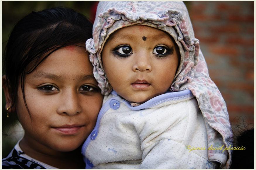 Nepal Series:  Big Eyes