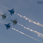 Постер, плакат: Airshow Barnaul January 2015