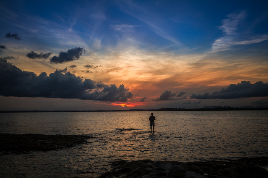 Photograph La Perouse Fisherman by Travis Chau on 500px