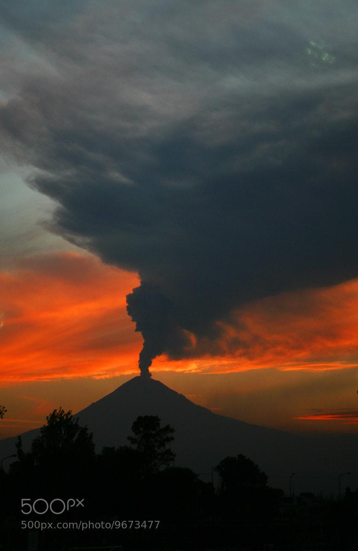 Photograph Volcano at sunset by Cristobal Garciaferro Rubio on 500px