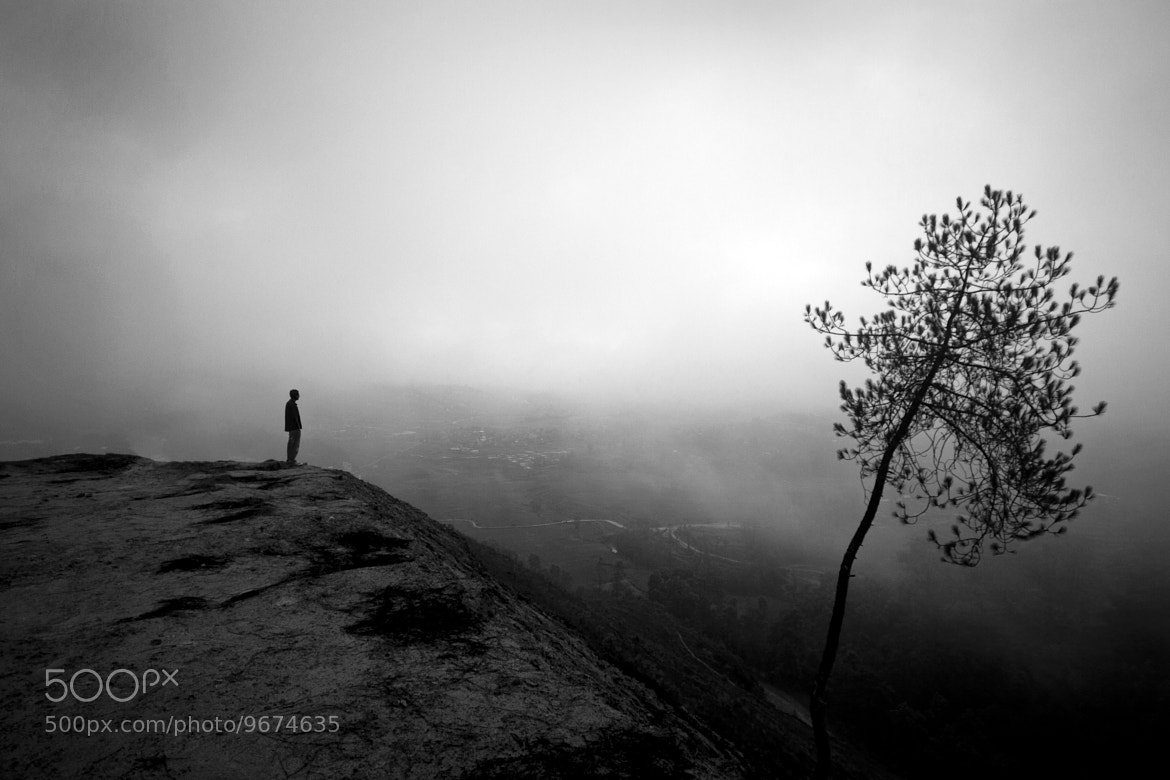 Photograph The Loneman by Nabin Mulepati on 500px
