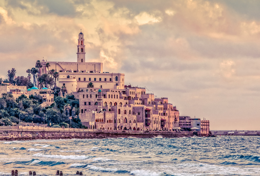 Old Yafo by astroprojector on 500px.com
