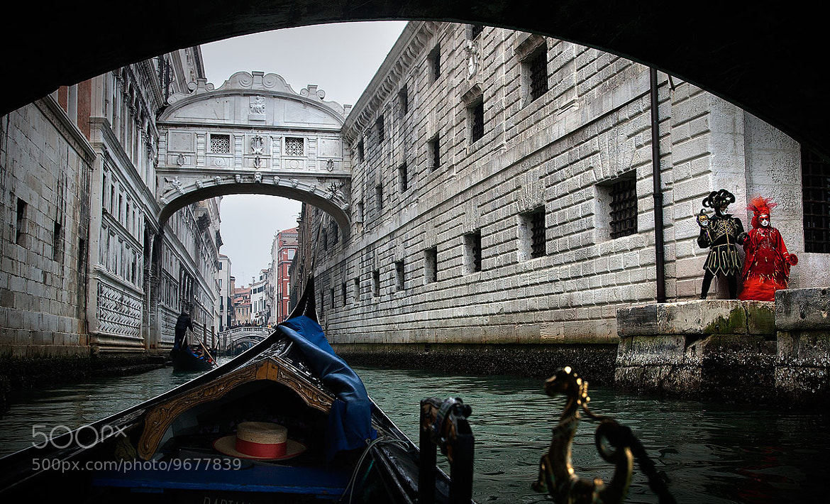 Photograph A Gondola View of Carnevale by Kah Kit Yoong on 500px