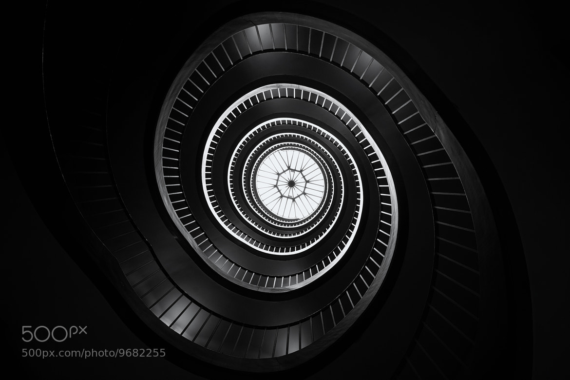 Photograph Revoltion staircase by Aurélien  Villette on 500px