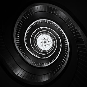 Revoltion staircase by Aurélien  Villette (Aurelien-Villette)) on 500px.com