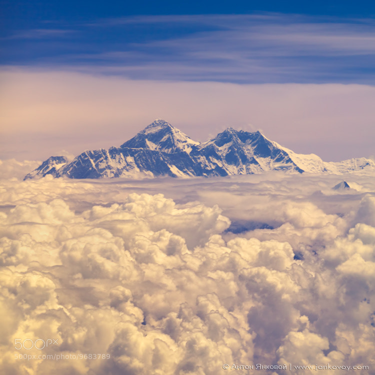 Photograph EVEREST (8,850 m) by Anton Jankovoy on 500px