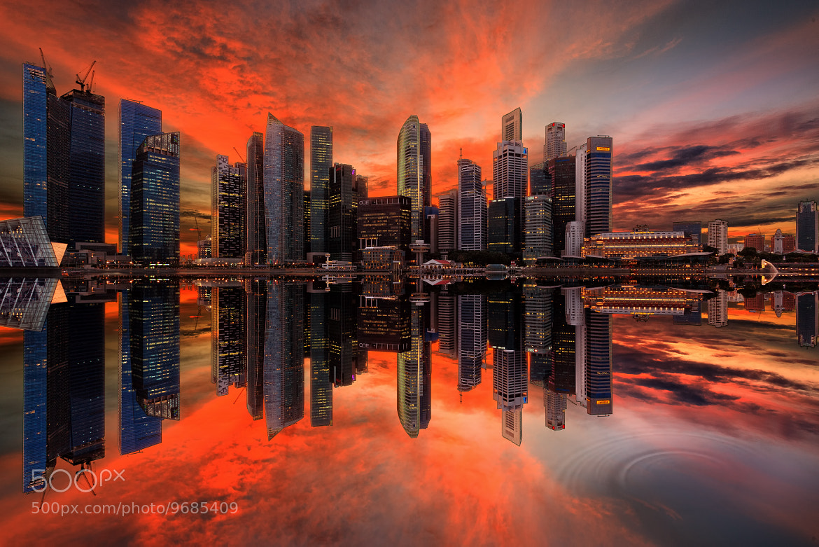 Photograph  Six Points of Fire Revisited by Jonathan Danker on 500px