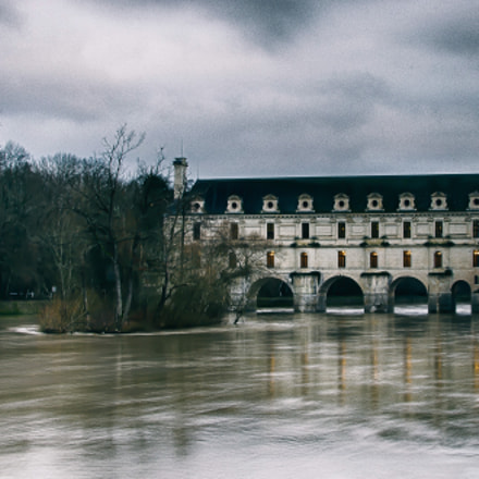 Winter at Chenonceau