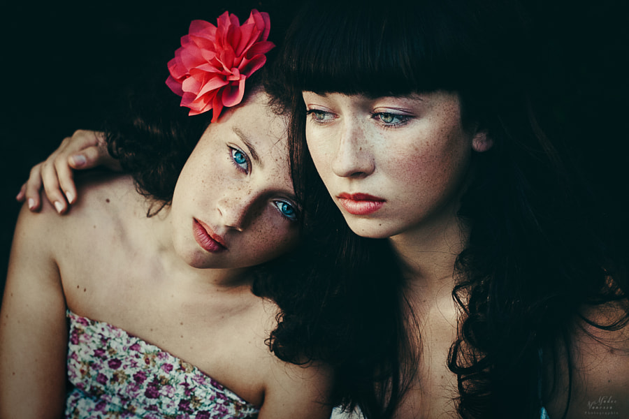 Photograph Sisters by Vanessa Madec on 500px
