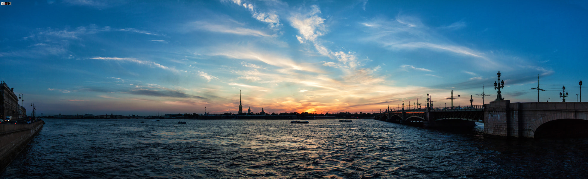 Photograph Sunset over St. Petersburg by Sergey SE®CH on 500px