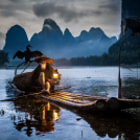 Постер, плакат: China Guilin grandfather