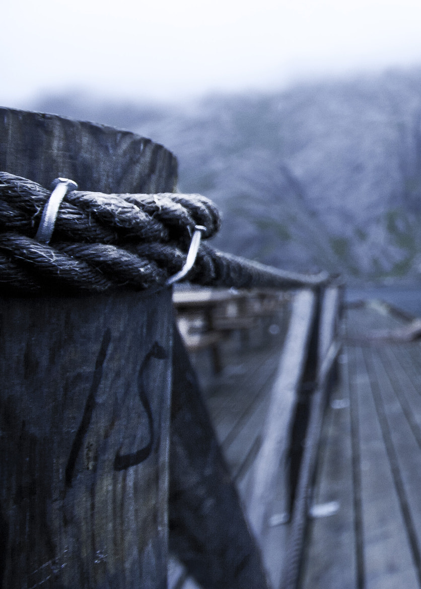 Photograph rope on a pole by kristian fodstad on 500px