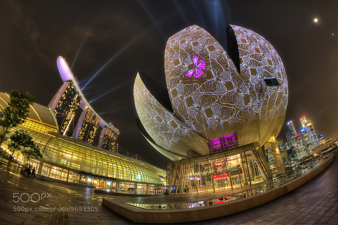 Photograph iLight @ MBS by Partha Roy on 500px