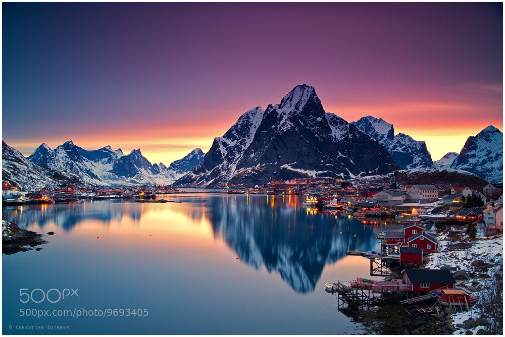 Photograph Reine | Lofoten by Christian Bothner on 500px