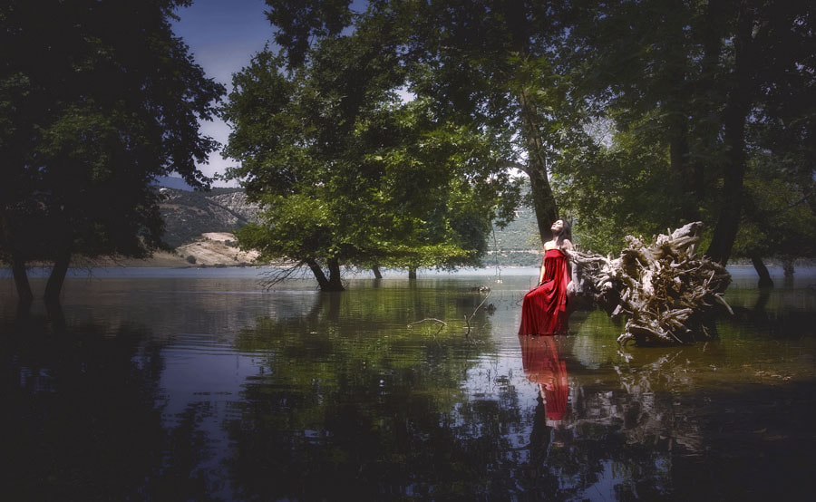 Photograph Red Fairy by Gregory Dallis on 500px