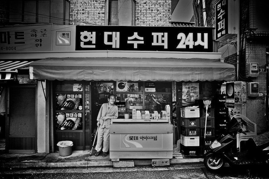 Photograph old man at the small store by Kimhwan SEOULIST on 500px