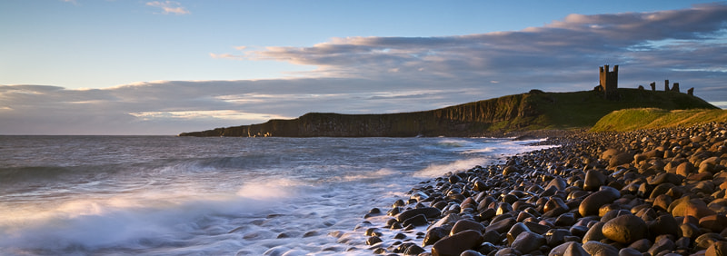 Photograph Dawn at Dunstanburgh Castle, Northumberland by Russell Turner on 500px