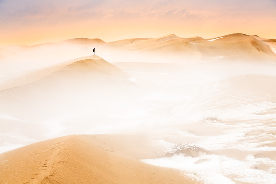 Hailstones in the desert by Khalid Al Hammadi on 500px.com