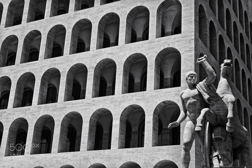 Photograph Colosseo Quadrato by mario pignotti on 500px