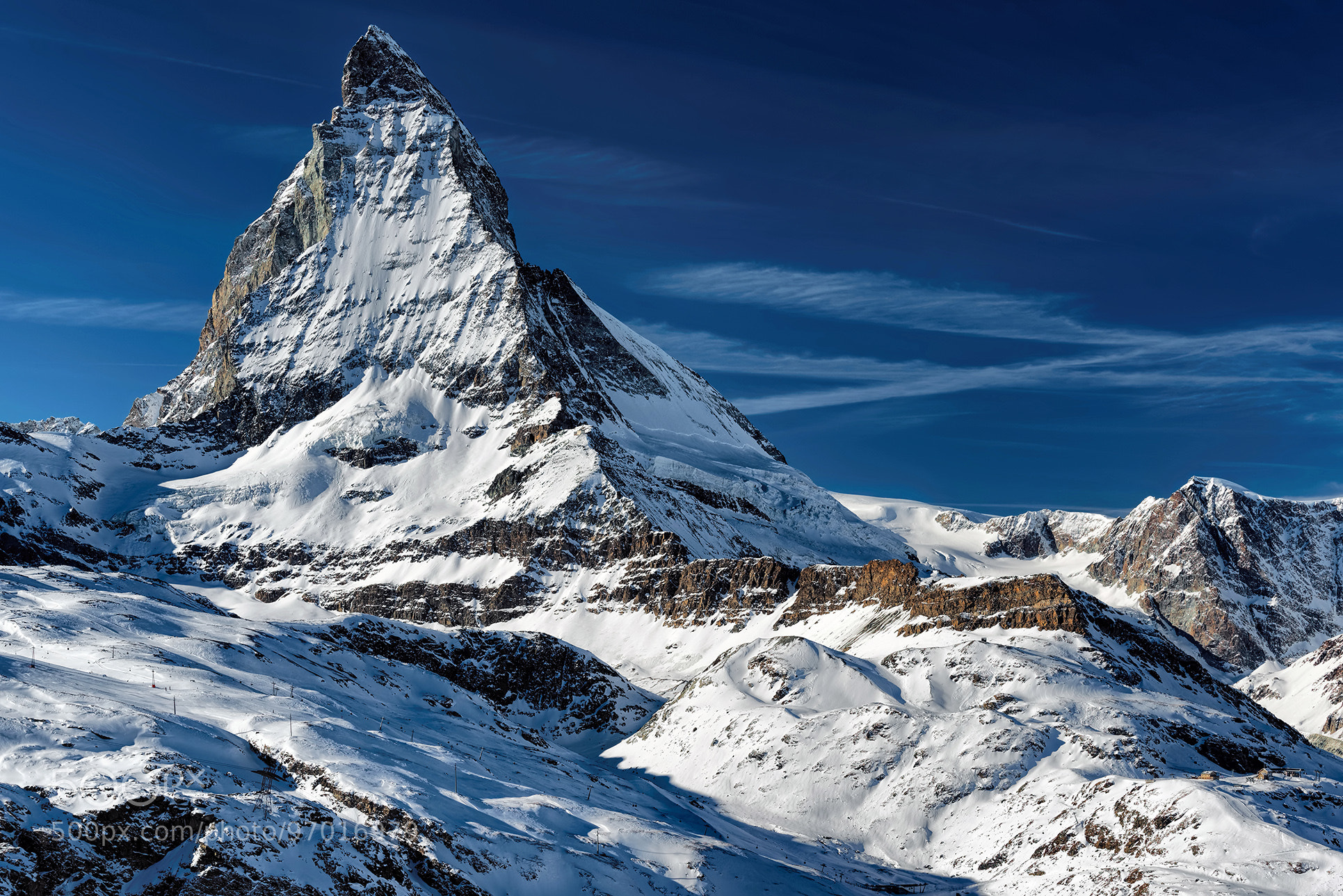 500px 上の Hans-Peter Deutsch の写真 The Matterhorn