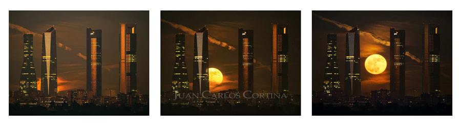 Moonrise Triptych de Juan Carlos Cortina en 500px.com