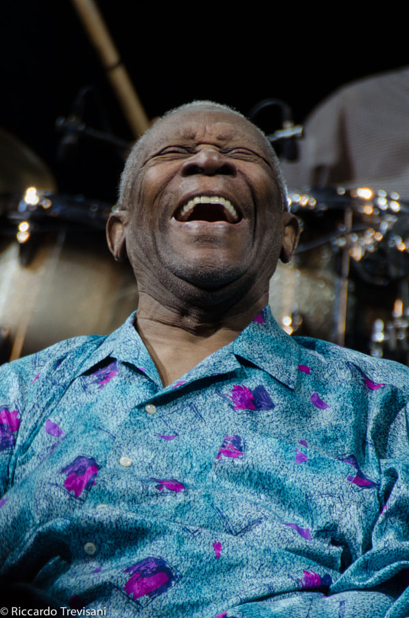 Photograph BB King by Riccardo Trevisani on 500px