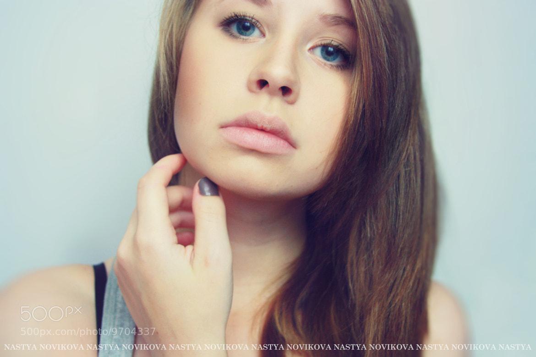 Photograph Self-portrait by Nastya Novikova on 500px
