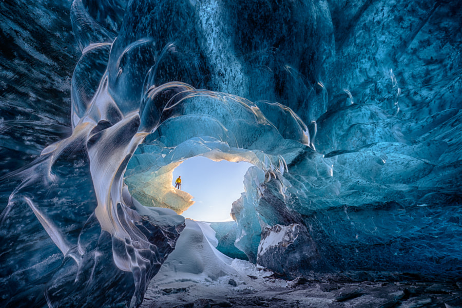 Ice cave dream by Jean-Francois Chaubard on 500px.com